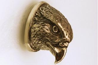 «Голова сокола» 155 (латунь)