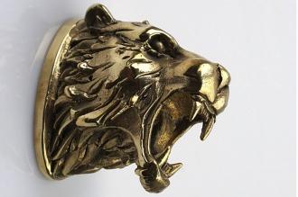 Навершие «Голова тигра» 105 (латунь)