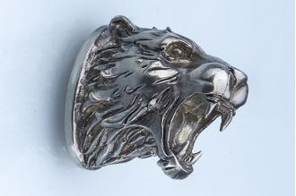 Навершие «Голова тигра» 105 (мельхиор)