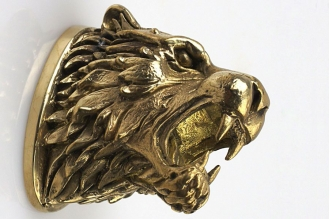 Навершие «Голова тигра» 107 (латунь)