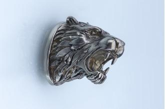 Навершие «Голова тигра» 107 (мельхиор)