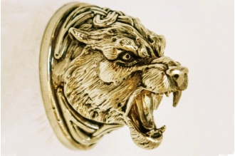 Навершие «Голова тигра» 150 (латунь)