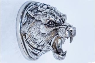 Навершие «Голова тигра» 150 (мельхиор)