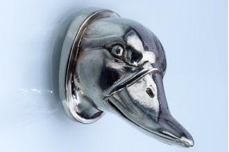 Навершие «Голова утки» 103 (мельхиор)