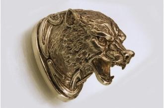 Навершие «Голова волка» 151 (латунь)