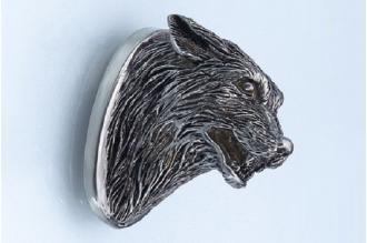 Навершие «Голова волка злого» 122 (мельхиор)