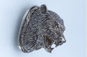 Навершие «Голова зверя» 126 (мельхиор)