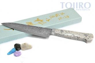 Нож HI-1107 из стали R2, изготовленный Mr. Itou