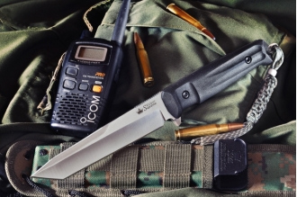 Нож Aggressor (AUS-8, Satin) Kizlyar Supreme, Россия