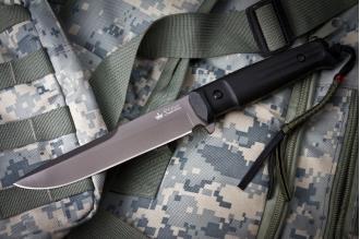 Нож Alpha (D2, G-Titanium) Kizlyar Supreme, Россия