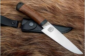 """Нож """"Барибал"""" 95Х18 (орех) АиР (Златоуст)"""