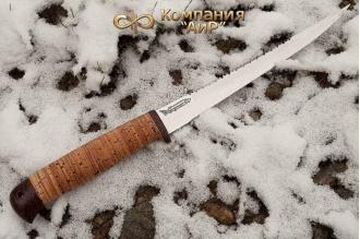 "Нож ""Белуга"" 95Х18 (наборная береста) АиР (Златоуст)"