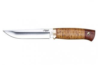 Нож Боровой (440C, береста) Южный Крест, Россия