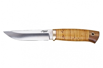 Нож Боровой М (440C, береста) Южный Крест, Россия