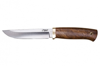 Нож Боровой (N690, комель ореха) Южный Крест, Россия