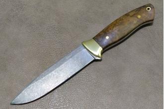 """Нож """"Боцман"""" (булат) Товарищество им. Завьялова, Россия"""