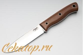 Нож Бушкрафт (N690, микарта) Южный Крест, Россия