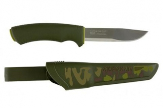 Туристический нож Mora Bushcraft Forest Camo