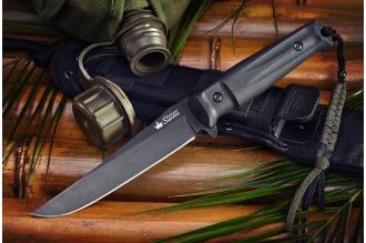 Нож Croc (AUS-8, Black) Kizlyar Supreme, Россия