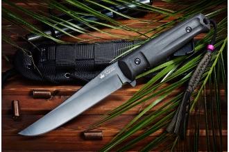 Нож Croc (D2, Black) Kizlyar Supreme, Россия