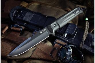 Нож Delta (AUS-8, Black) Kizlyar Supreme, Россия