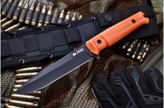 Нож Delta (AUS-8, Black OH) Kizlyar Supreme, Россия