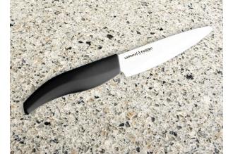 Нож керамический черный Samura Fusion SF-0010 для чистки овощей