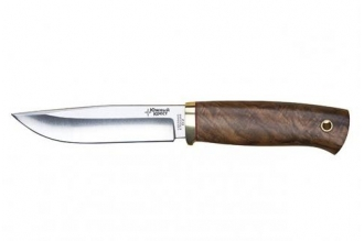 Нож Древич (440C, черный граб) Южный Крест, Россия