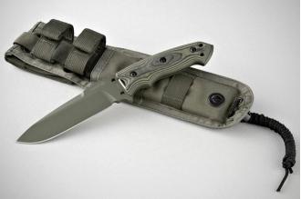 "Нож Extreme EX-F01 5 1/2"" Green Hogue, США"
