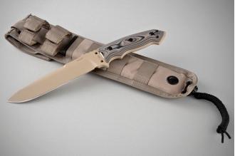 "Нож Extreme EX-F01 7"" Dark Earth Hogue, США"