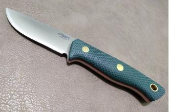 Нож Fang N690 (зеленая микарта с оружейной насечкой)