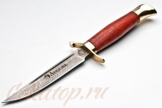Нож Финка НКВД СССР (дамасская сталь) Лебежь