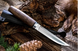 "Нож ""Финка Сканди"" 95Х18 (орех) АиР"