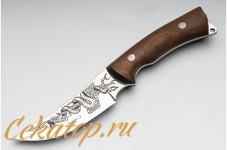 """Нож """"Гюрза-2"""" (клинок с рисунком) Кизляр, Россия"""