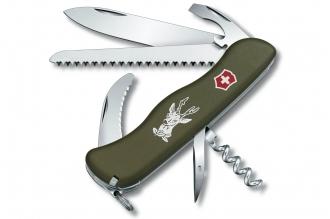 Складной нож Hunter OD Green Victorinox