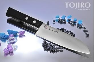 Кухонный нож Kanetsugu серии 21 EXEL 2015 из молибден-ванадиевой стали