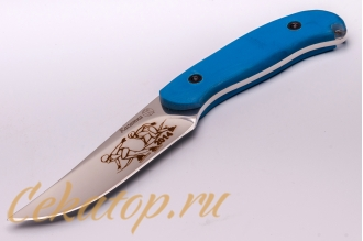 Нож «Касатка 2014 Бег на коньках» (синий) Кизляр