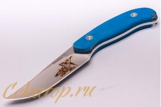 Нож «Касатка 2014 Прыжки на лыжах» (синий) Кизляр, Россия