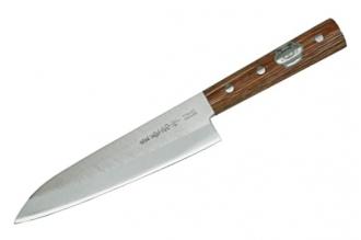 Нож Kengata 180 мм (Shiro2 / SUS410) Kanetsune Seki