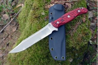 Нож «Клён» (Red-Black) Steelclaw