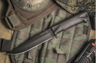 Нож Коршун-3 (рукоять Elastron) Кизляр, Россия