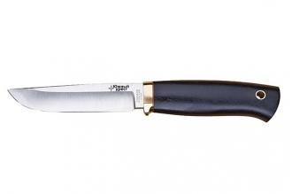Нож Кузьмич (440C, черный граб) Южный Крест, Россия