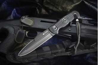 Нож Legion (D2, Black) Kizlyar Supreme