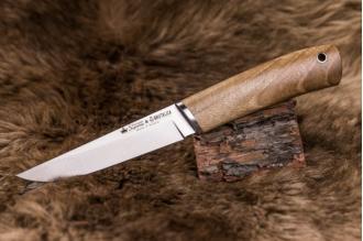 Нож Malamute (AUS-8, Walnut) Kizlyar Supreme, Россия