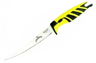 Нож Mr. Crappie Slab Shaver 6'' Bait Buck, США