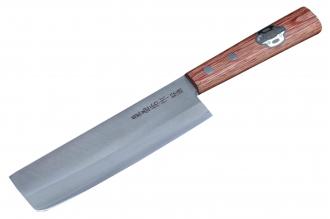 Нож Nakiri 135 мм (Shiro2 / SUS410) Kanetsune Seki