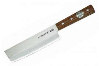 Нож Nakiri 165 мм (Shiro2 / SUS410) Kanetsune Seki