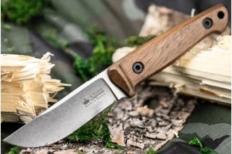 Нож Nikki (AUS-8, Walnut) Kizlyar Supreme