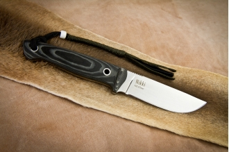 Нож Nikki (AUS-8, Satin) Kizlyar Supreme