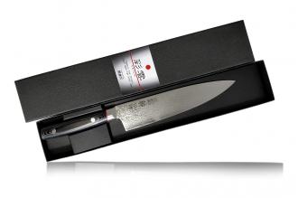 Поварской нож Saiun Damascus 230 мм Kanetsugu